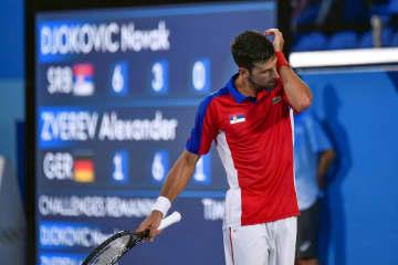 ジョコビッチが準決勝で敗れる テニス・30日 画像1