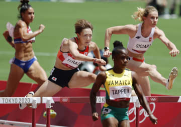 100m障害の寺田は準決勝へ 陸上・31日 画像1