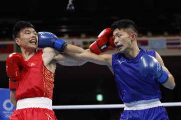 田中、準々決勝へ ボクシング・31日 画像1