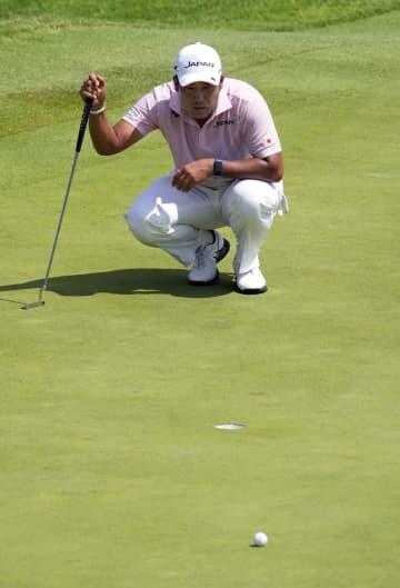 松山は1打差2位、星野46位 ゴルフ・31日 画像1