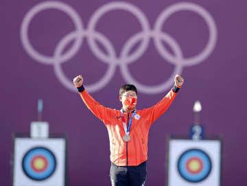 アーチェリー古川高晴「銅」 団体に続き自身3個目メダル 画像1