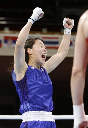 入江聖奈、銀メダル以上が確定 ボクシング・31日 画像1