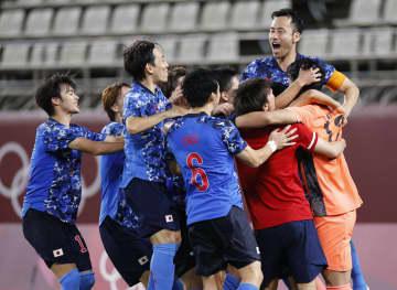 日本、PK戦でNZ破り準決勝へ サッカー男子・31日 画像1