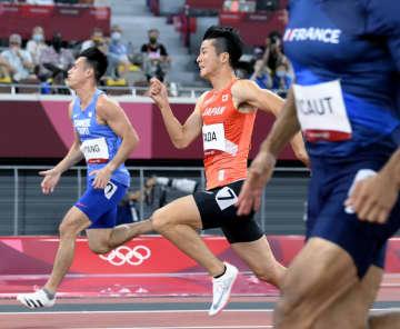 男子100mの日本勢は予選落ち 陸上・31日 画像1