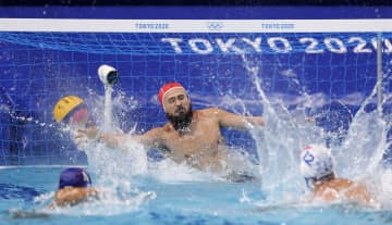 男子はイタリアに屈し4連敗 水球・31日 画像1