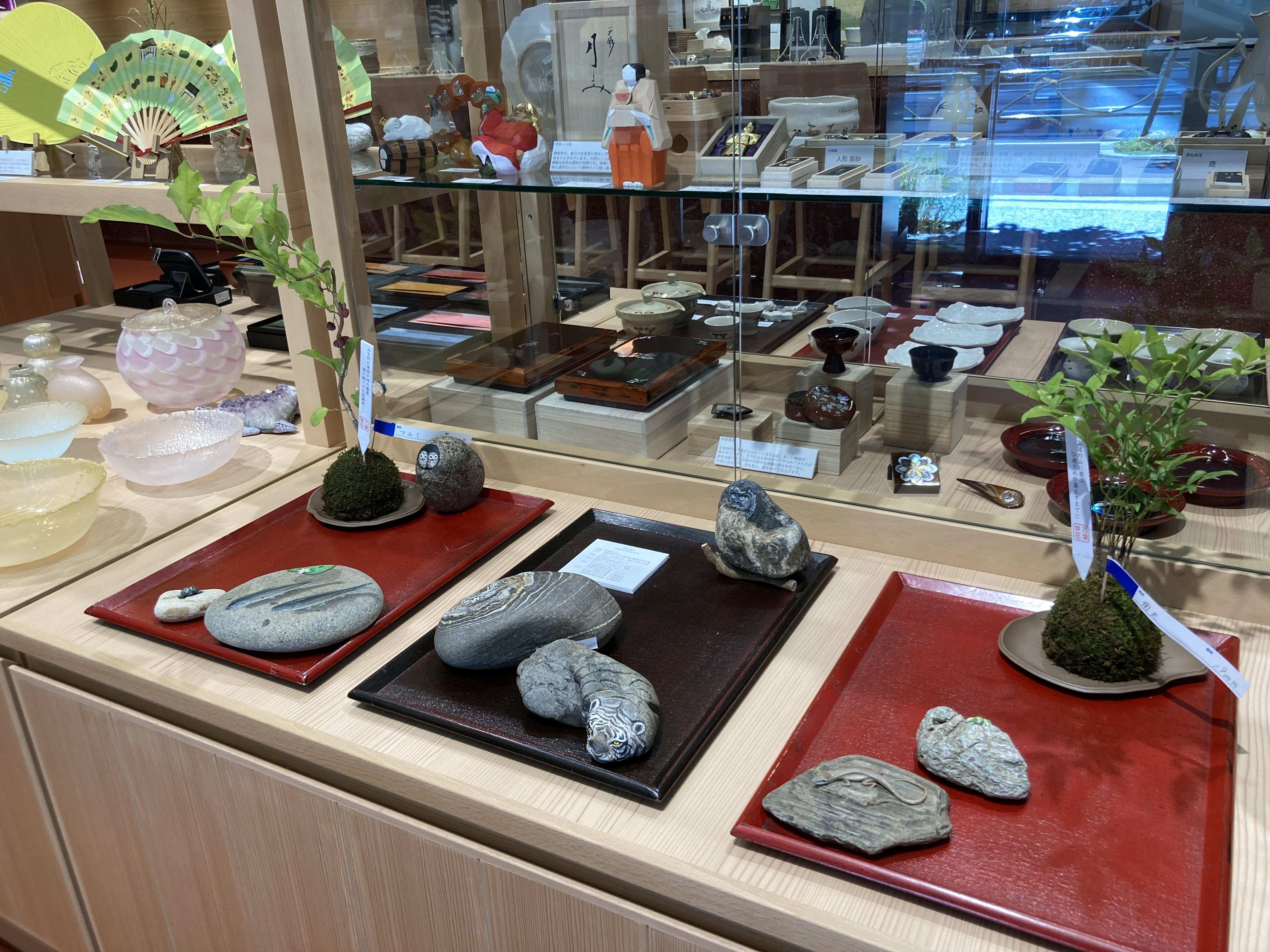 奈良の現代アート「石ころアート」
