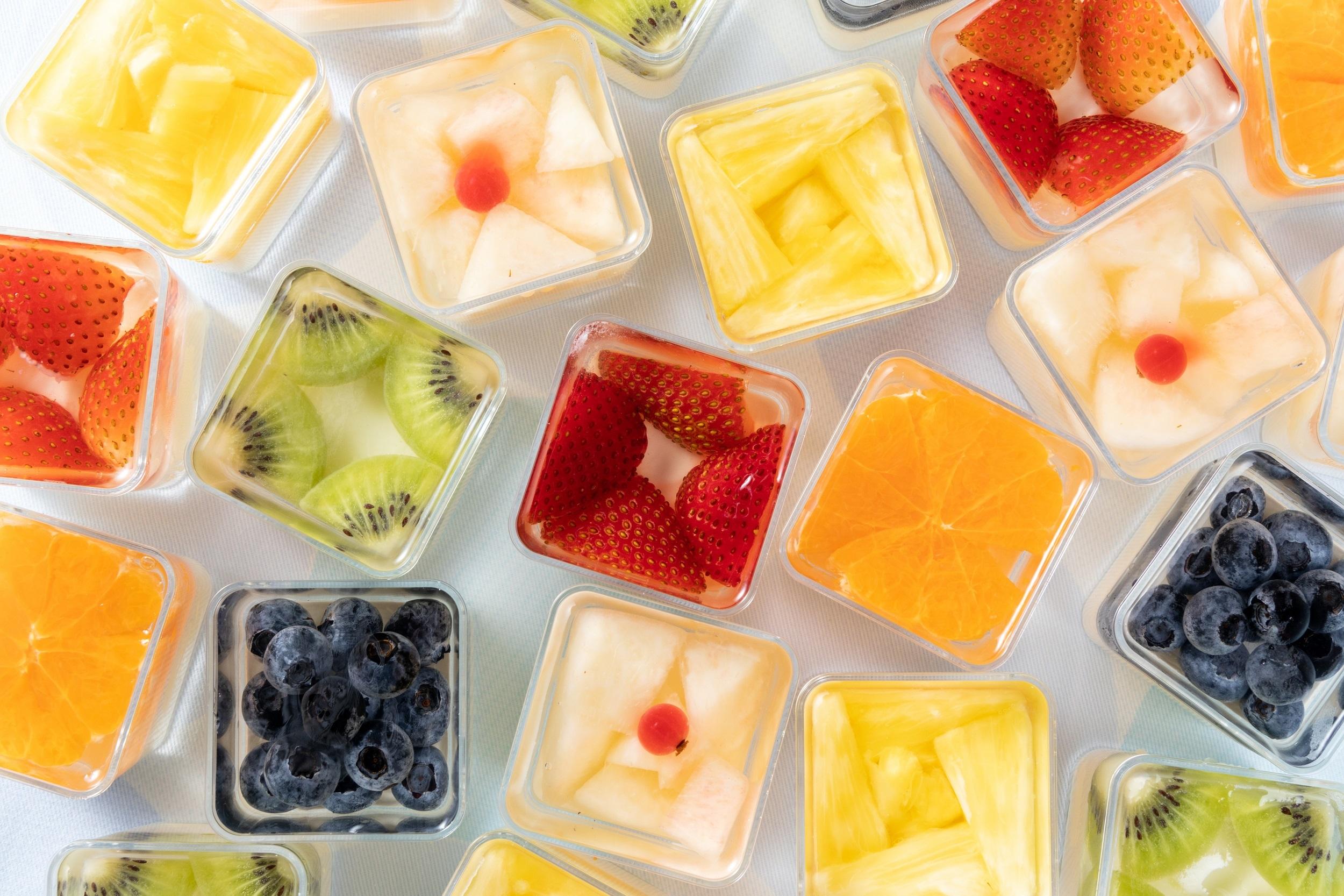 6種のフルーツが輝く宝石箱のような『フルーツジュエル』