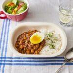 レンズ豆の無水キーマカレー