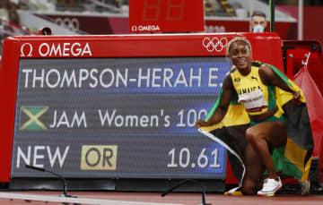 女子100mでジョイナー超え 2連覇のトンプソンヘラ 画像1