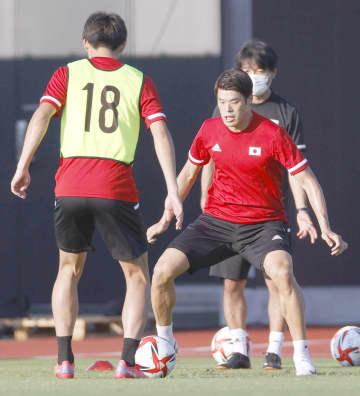 4強の日本、スペイン戦へ調整 サッカー男子、初の決勝進出懸け 画像1