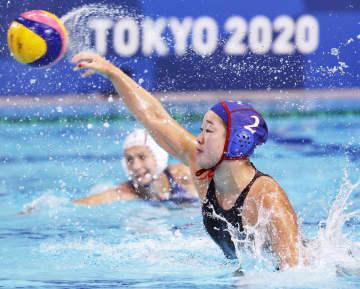 女子日本、4戦全敗で9位 水球・1日 画像1
