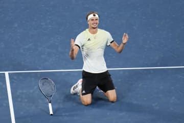 ドイツのズベレフ、男子単で優勝 テニス・1日 画像1