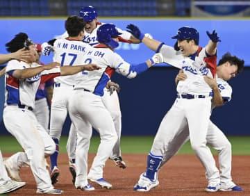 韓国が準々決勝に進出 野球・1日 画像1
