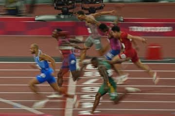 男子100mはヤコブスが初優勝 陸上・1日 画像1