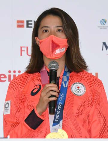 大橋悠依「こんなに楽しいとは」 改めて感慨、競泳個人メで2冠 画像1