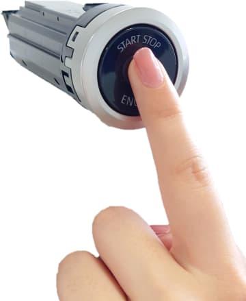 エンジン始動に指紋認証 東海理化、盗難防止に一役 画像1