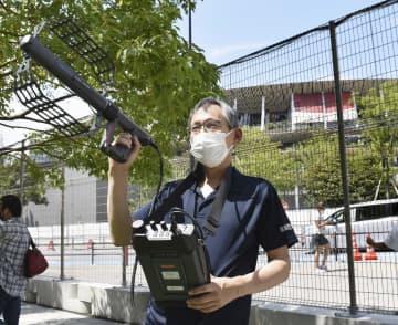 不正電波、五輪会場周辺で警戒中 総務省24時間態勢 画像1