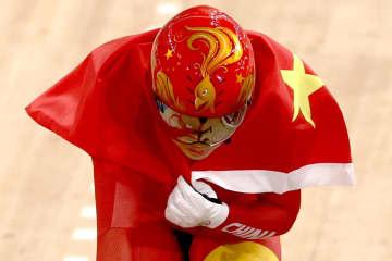 中国が連覇、世界新も 自転車・2日 画像1