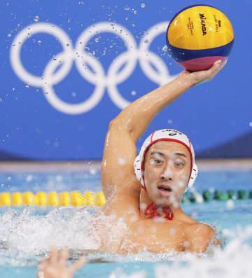 日本男子、37年ぶり勝利 水球・2日 画像1