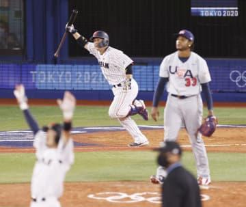 日本、サヨナラで準決勝へ 野球・2日 画像1