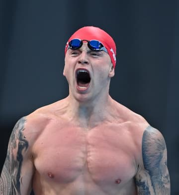 競泳王者も心の健康で1カ月休養 平泳ぎ金メダルのピーティ 画像1