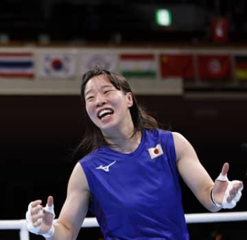 入江、日本女子初の金メダル ボクシング・3日 画像1