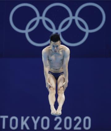 40歳の寺内健、7位で決勝進出 飛び込み・3日 画像1