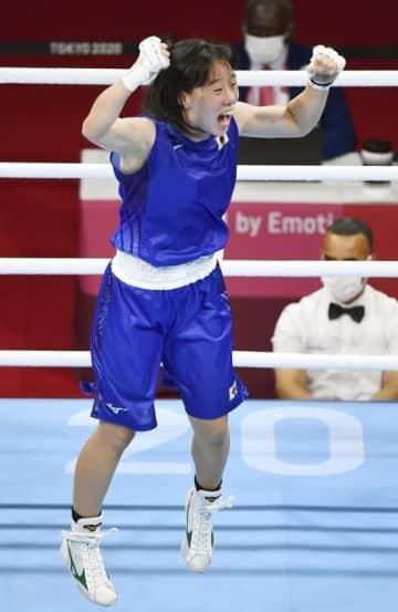 入江、ボクシング女子初の金 日本18個目、田中もメダル確定 画像1
