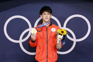 10代でメダル3個は3人目 橋本、往年の名選手超える 画像1