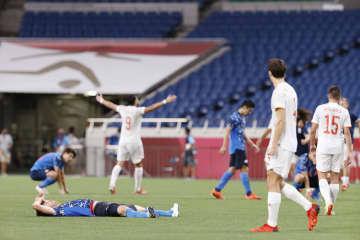 日本、延長で敗れ3位決定戦へ サッカー男子・3日 画像1
