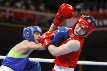並木月海、敗れて銅メダル ボクシング・4日 画像1