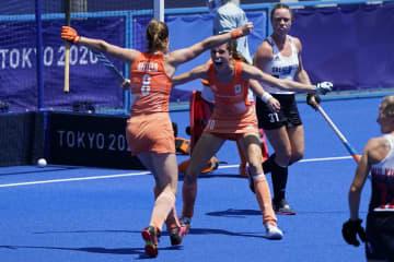 ホッケー、オランダが英国に雪辱 「素晴らしい気分」で決勝進出 画像1