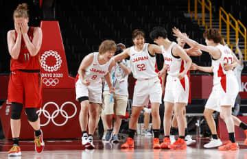 日本女子、初の4強入り バスケットボール・4日 画像1