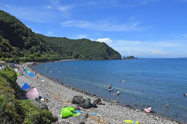 海と温泉を満喫!静岡県・伊東市の4つの海水浴場がオープン 画像5