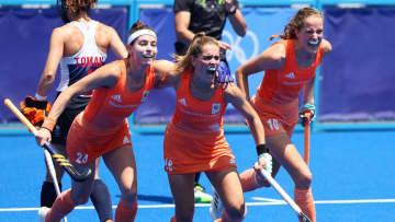 オランダ―アルゼンチンで決勝 ホッケー・4日 画像1