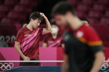 男子団体、日本は3位決定戦へ 卓球・4日 画像1
