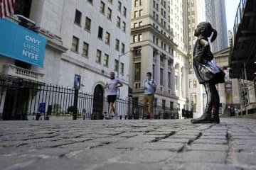 NY株反落、323ドル安 コロナ変異株の拡大懸念で 画像1