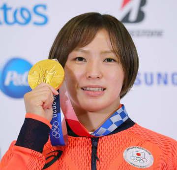 川井友香子「金を少しずつ実感」 レスリング女子決勝から一夜明け 画像1