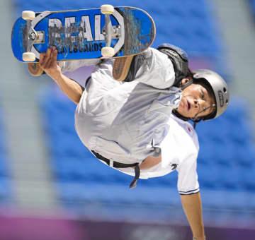 平野歩夢は決勝に進めず スケートボード・5日 画像1