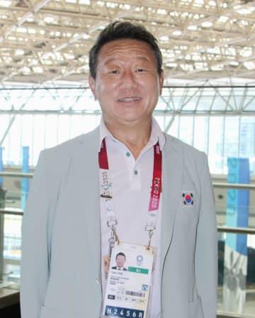スポーツで日韓関係の改善を 韓国選手団、在日3世の副団長 画像1