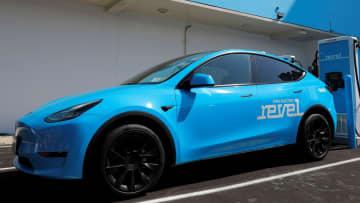 米、新車の半数を30年電動化 脱炭素加速、HV含めず 画像1