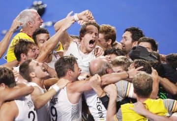 ベルギーが初の金メダル ホッケー・5日 画像1