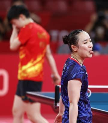 女子団体、日本は銀メダル 卓球・5日 画像1