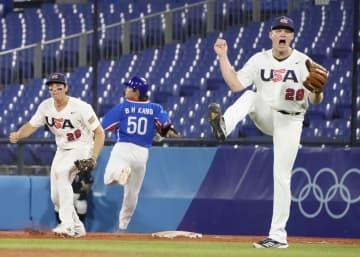 日本、決勝は再び米国戦 野球・5日 画像1