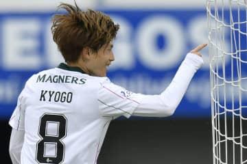 古橋亨梧、移籍後初ゴール サッカー、欧州リーグ予選3回戦 画像1