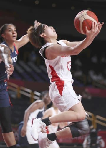 バスケット女子、日本が決勝進出 仏破りメダル確定、歴史的快挙 画像1