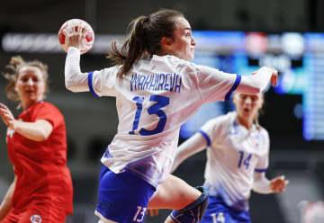 女子決勝はROC―フランス ハンドボール・6日 画像1