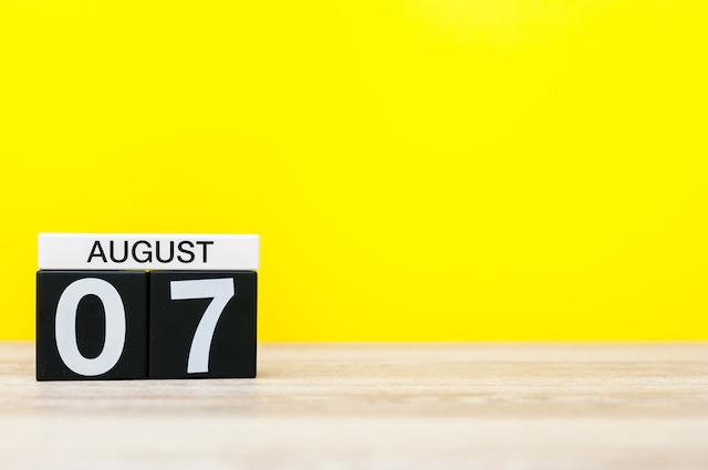 今日は何の日?【8月7日】 画像1