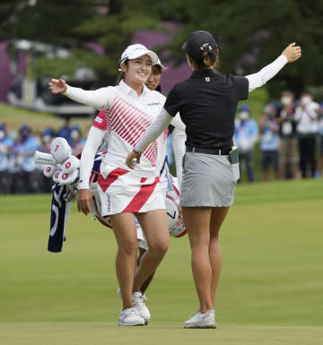 ゴルフ女子、稲見萌寧が銀メダル 22歳、五輪表彰台は日本初 画像1