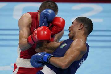 ブラジルのソウザがKOで「金」 ボクシング・7日 画像1